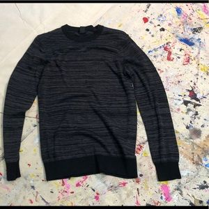 Clean black and grey sweater